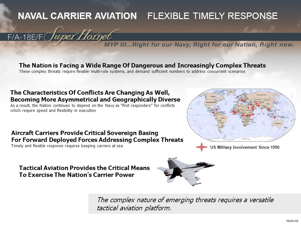 NAVAL CARRIER AVIATION FLEXIBLE TIMELY RESPONSE