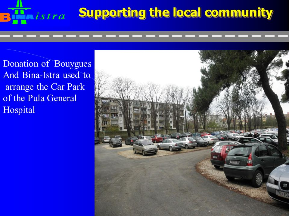 Supporting the local community