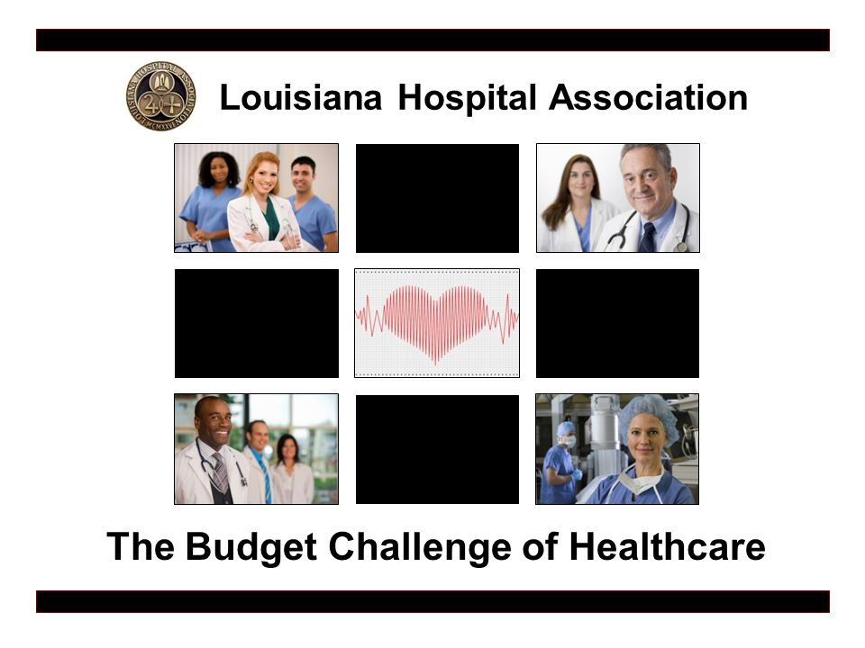 Louisiana Hospital Association The Budget Challenge of Healthcare