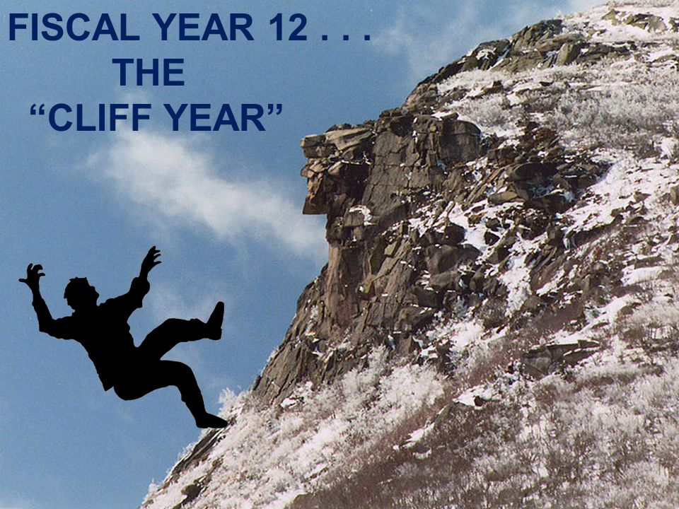 FISCAL YEAR 12 . . . THE CLIFF YEAR 17 17
