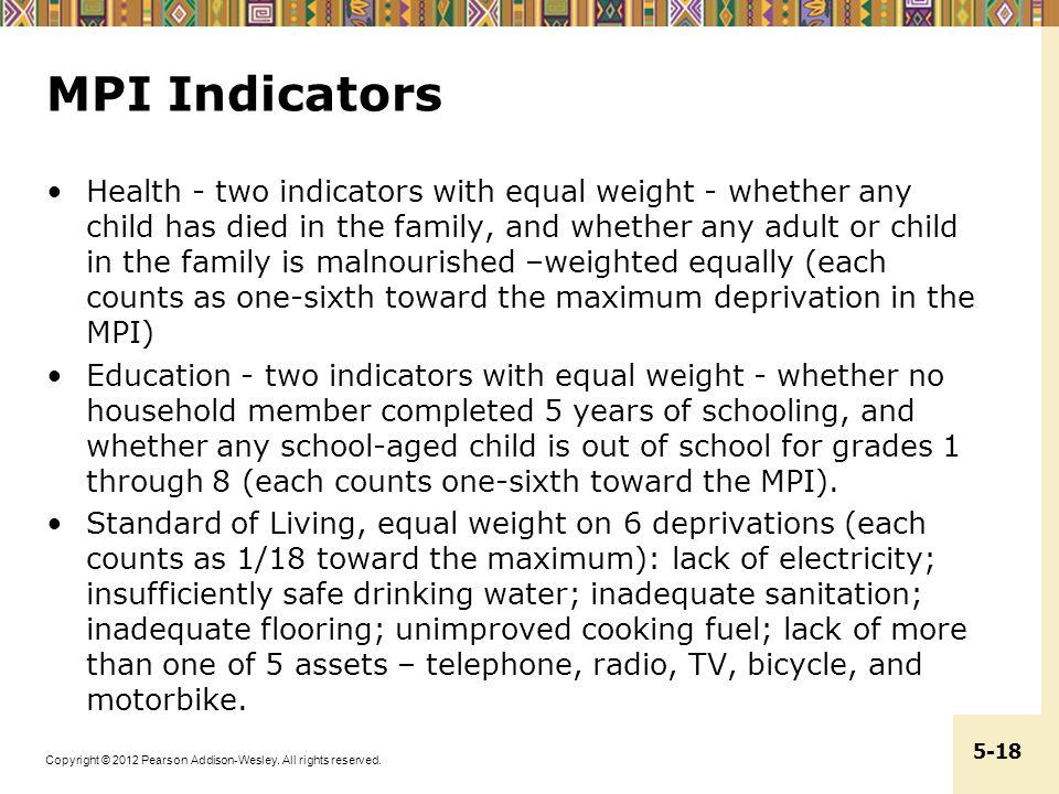 MPI Indicators