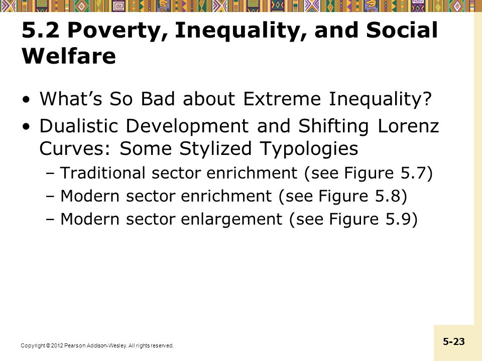 5.2 Poverty, Inequality, and Social Welfare