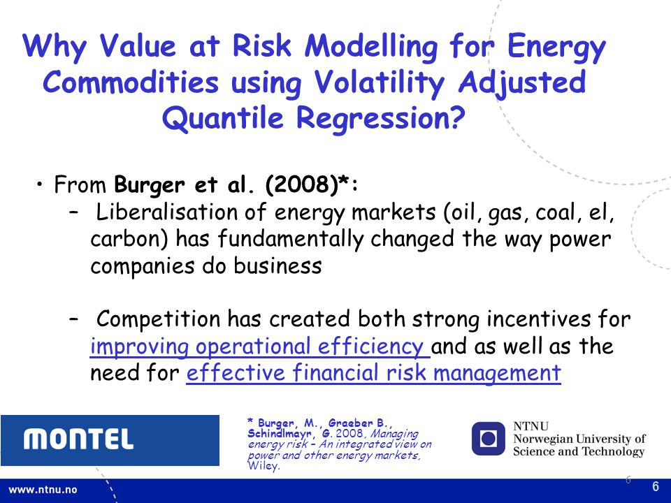 Why Value at Risk Modelling for Energy Commodities using Volatility Adjusted Quantile Regression