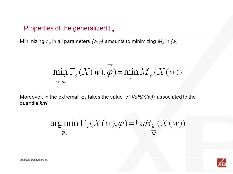 Properties of the generalized 