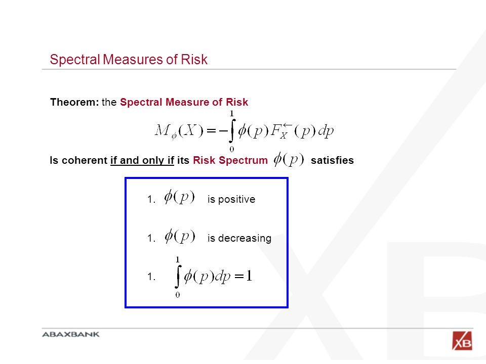 Spectral Measures of Risk