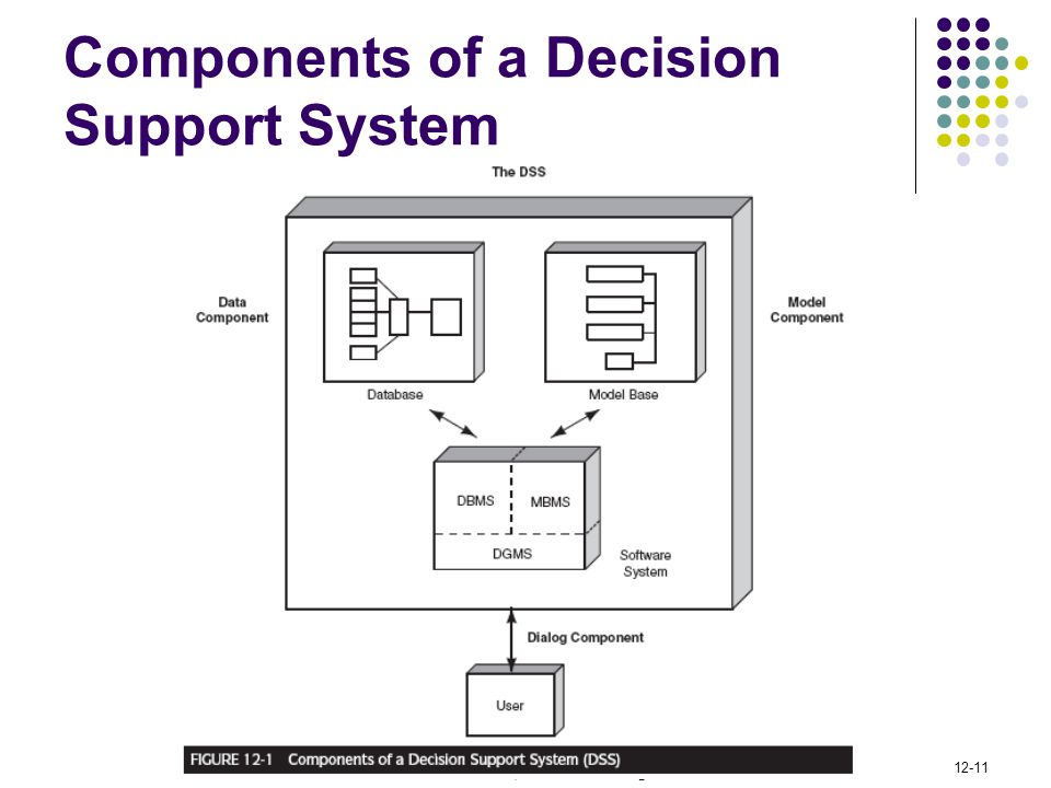Components of a Decision Support System