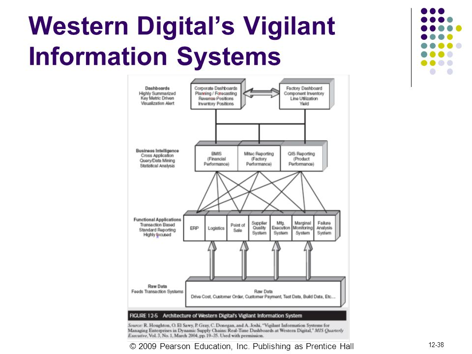 Western Digital's Vigilant Information Systems