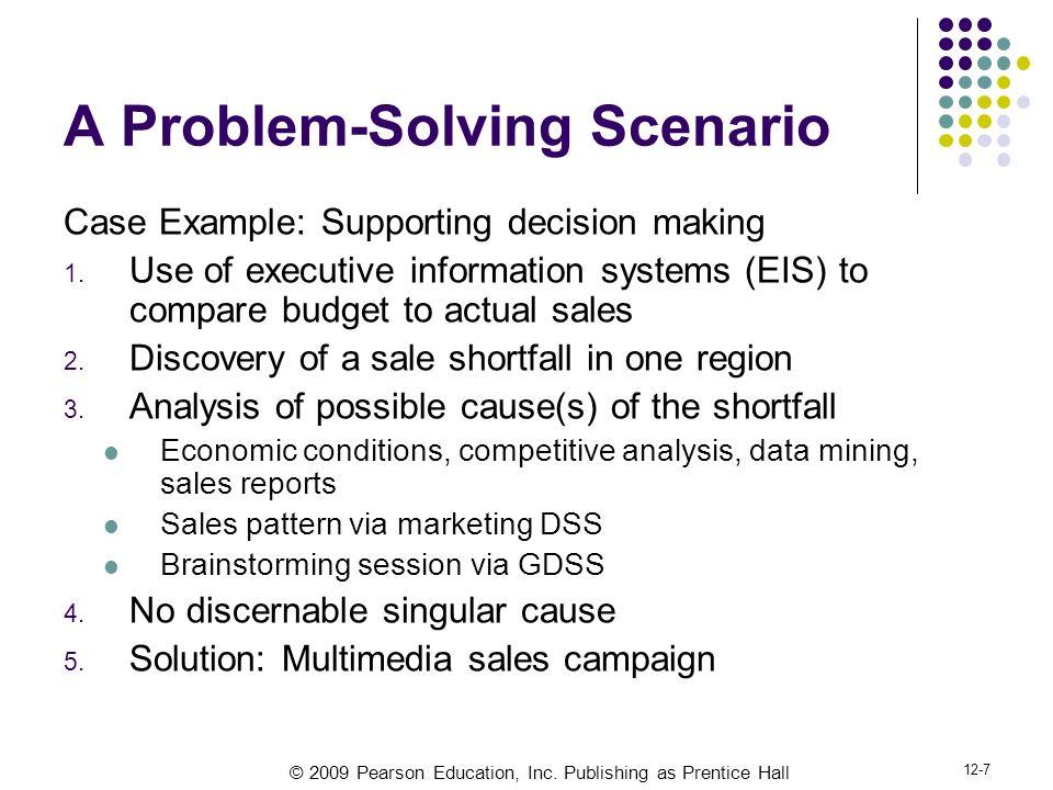 A Problem-Solving Scenario