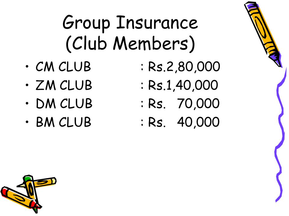 Group Insurance (Club Members)