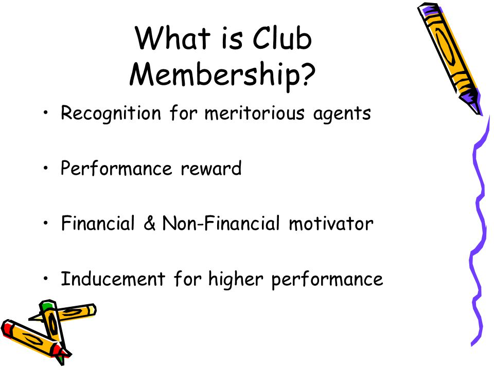 What is Club Membership