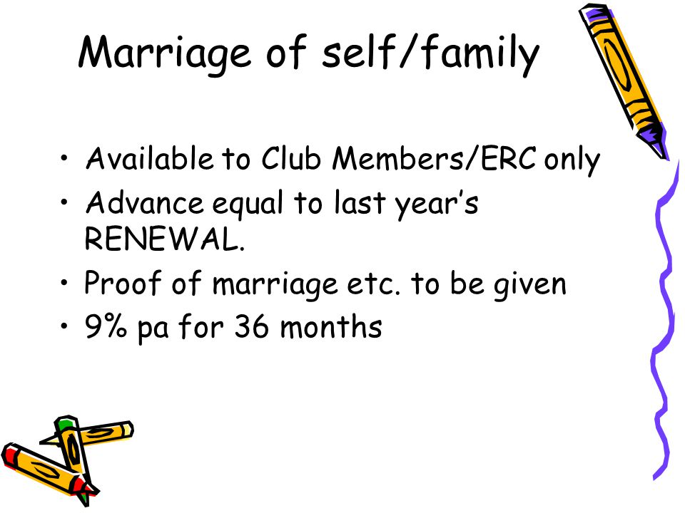 Marriage of self/family