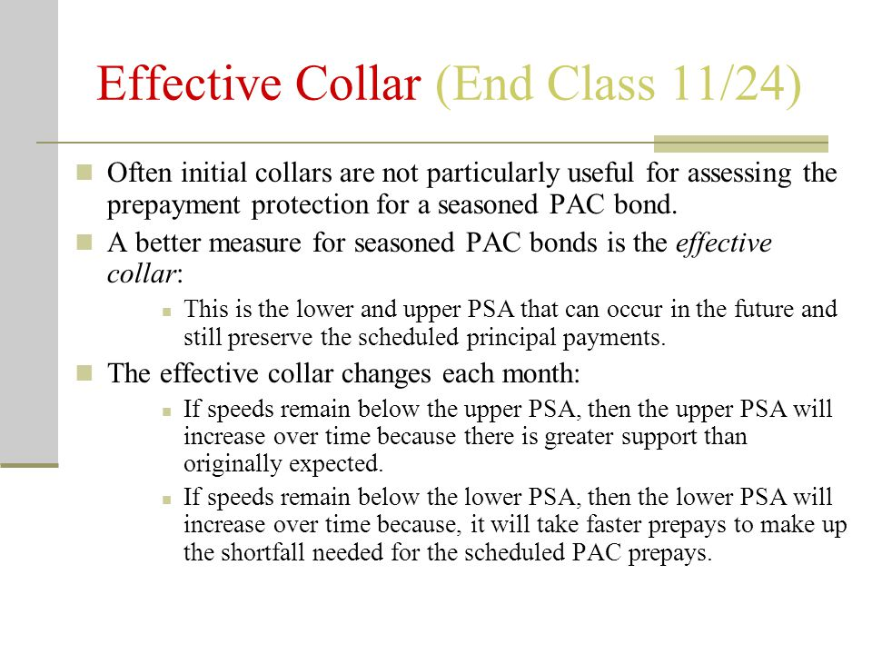 Effective Collar (End Class 11/24)