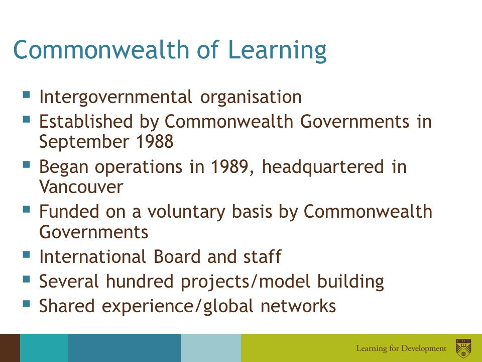 Commonwealth of Learning