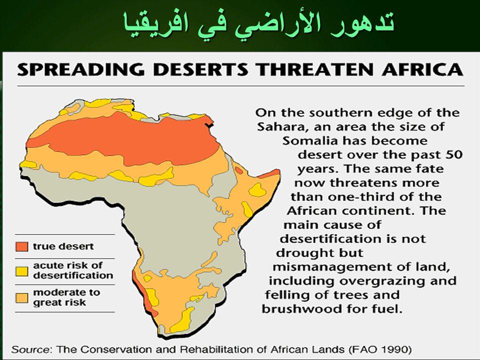 تدهور الأراضي في افريقيا