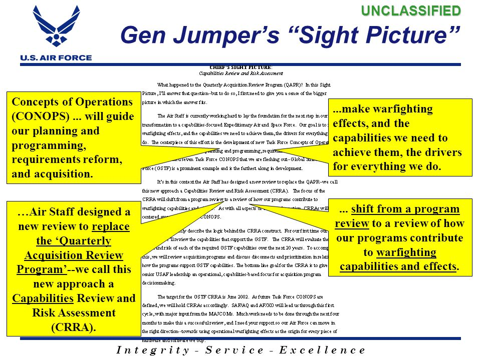 Gen Jumper's Sight Picture