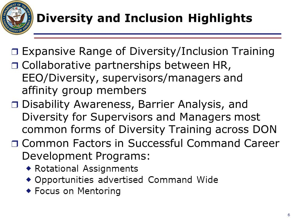 Diversity and Inclusion Highlights