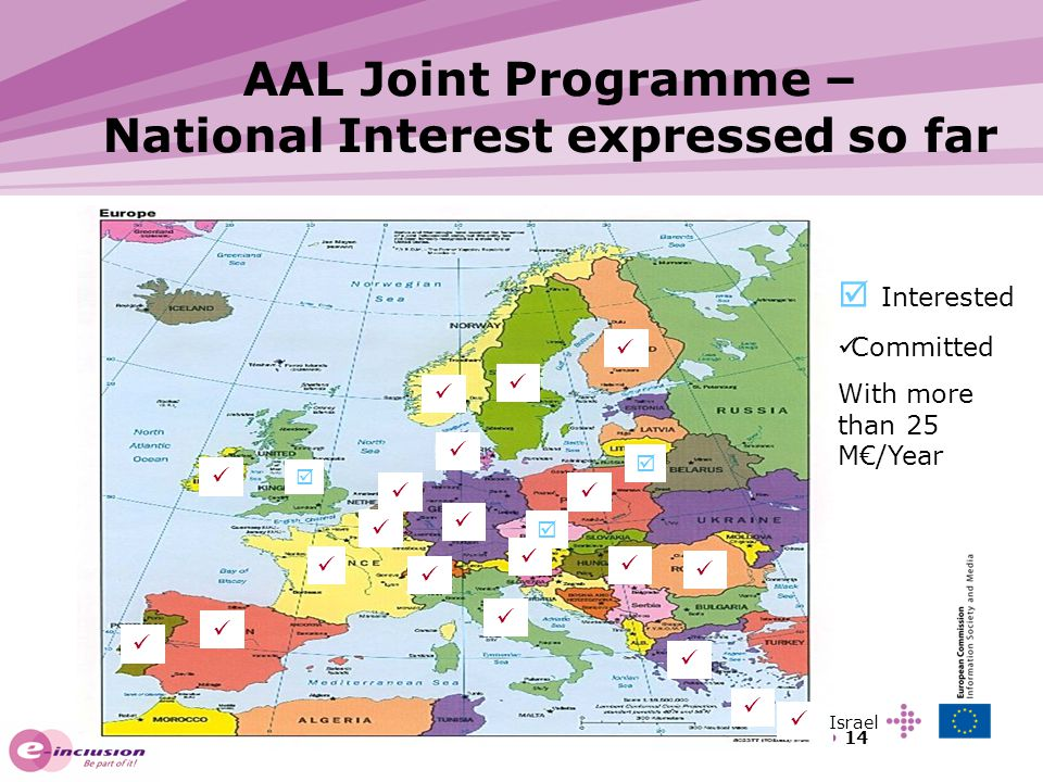 AAL Joint Programme – National Interest expressed so far