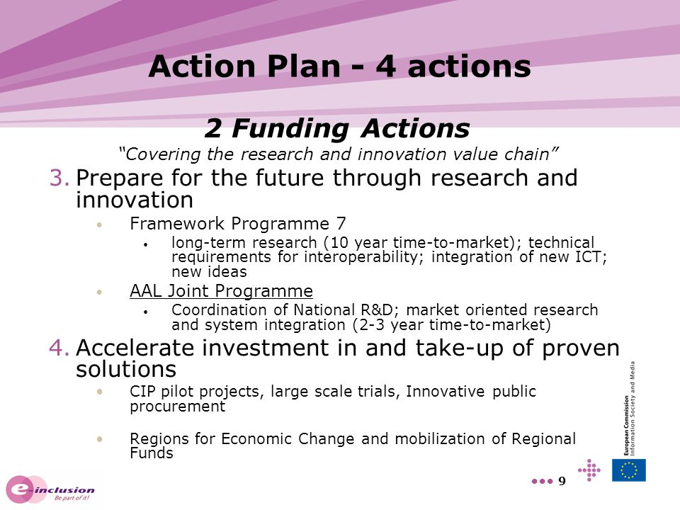 Covering the research and innovation value chain