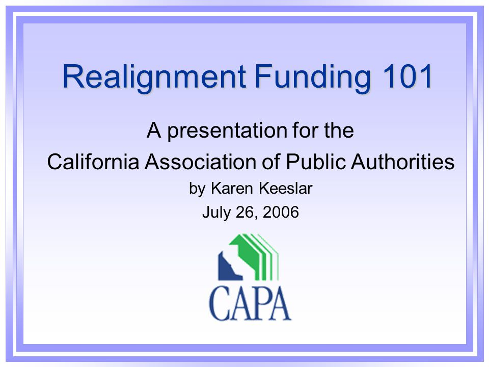 California Association of Public Authorities