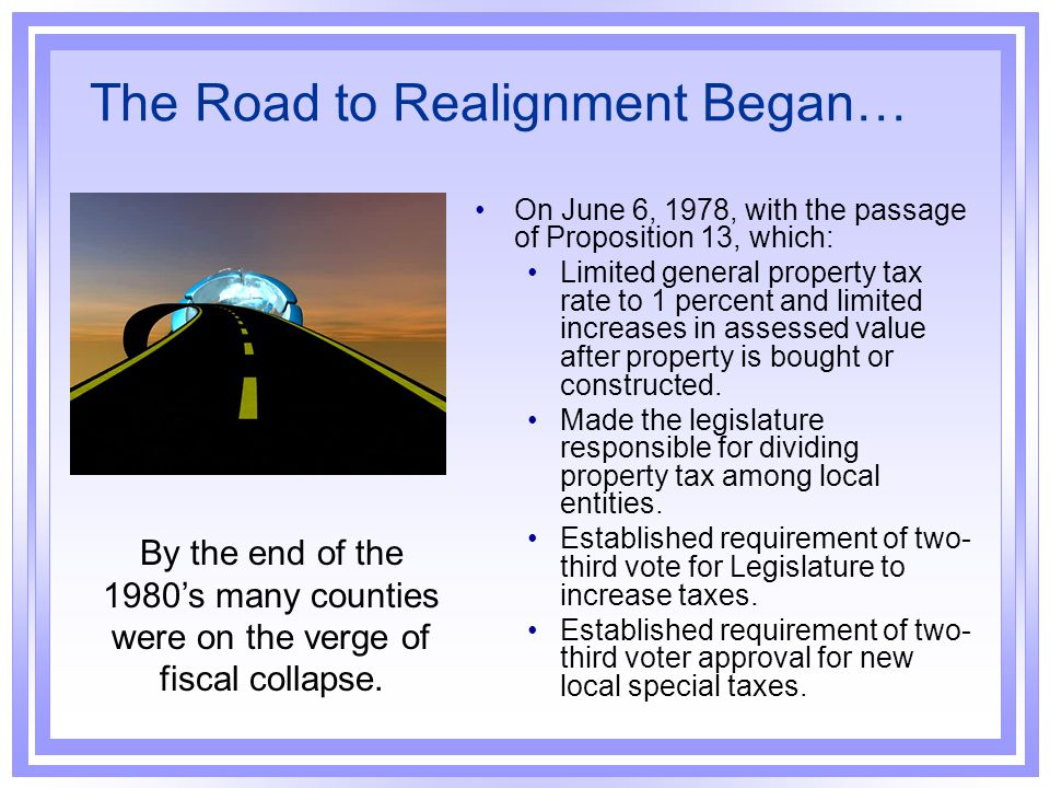 The Road to Realignment Began…