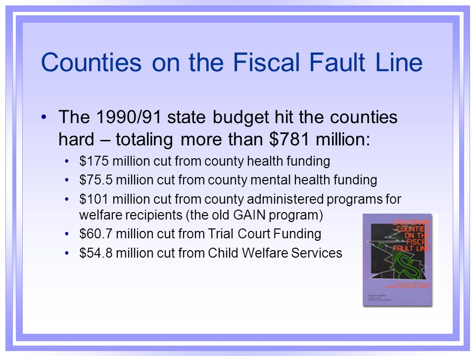 Counties on the Fiscal Fault Line