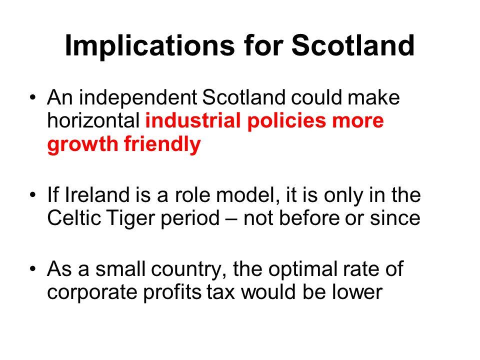Implications for Scotland