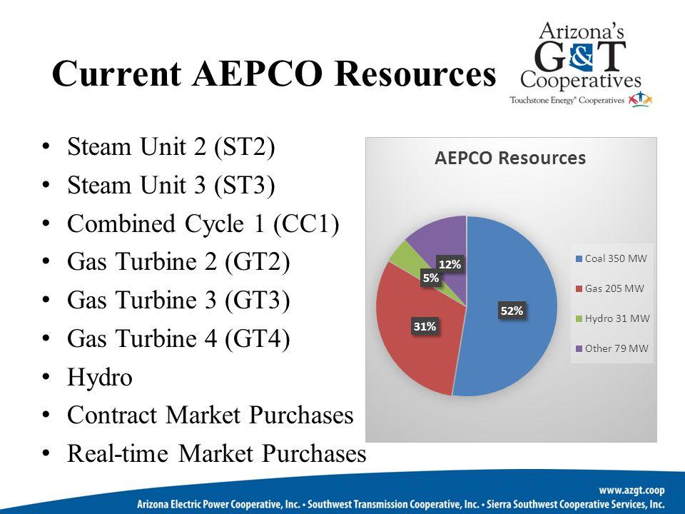 Current AEPCO Resources