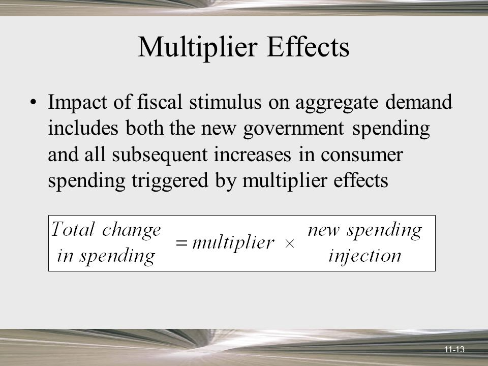 Multiplier Effects