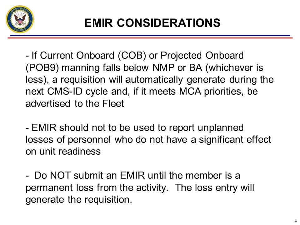 EMIR CONSIDERATIONS