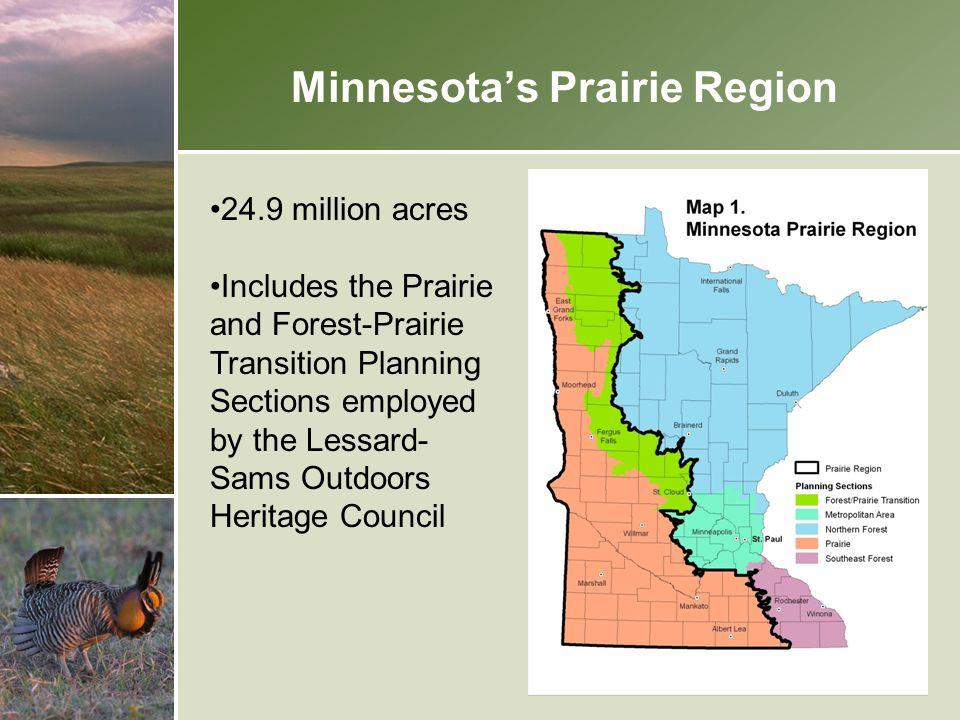 Minnesota's Prairie Region