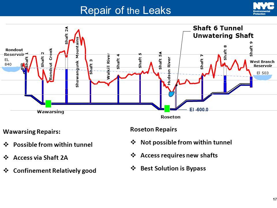 Repair of the Leaks Roseton Repairs Wawarsing Repairs: