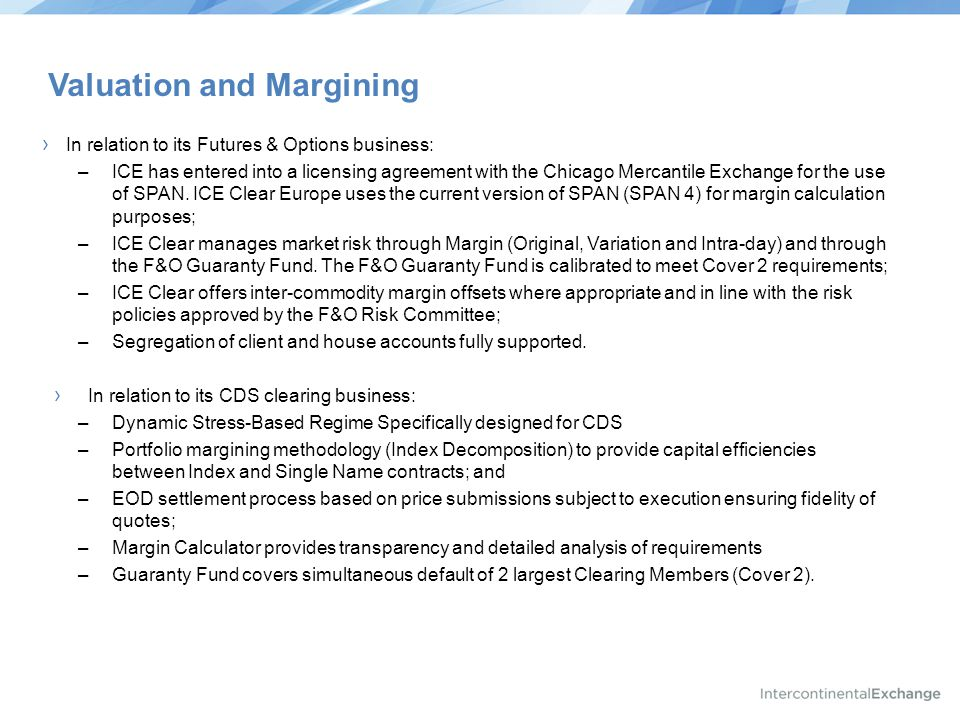 Valuation and Margining