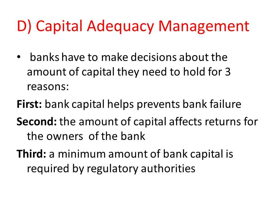 D) Capital Adequacy Management