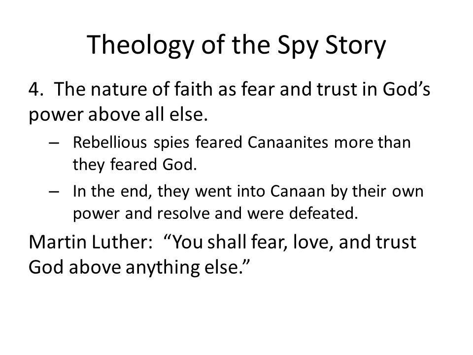 Theology of the Spy Story