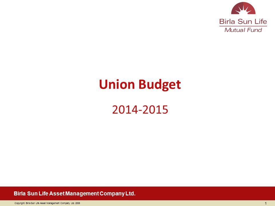 Union Budget 2014-2015