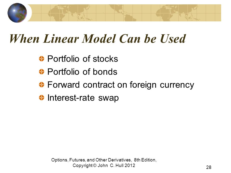 When Linear Model Can be Used