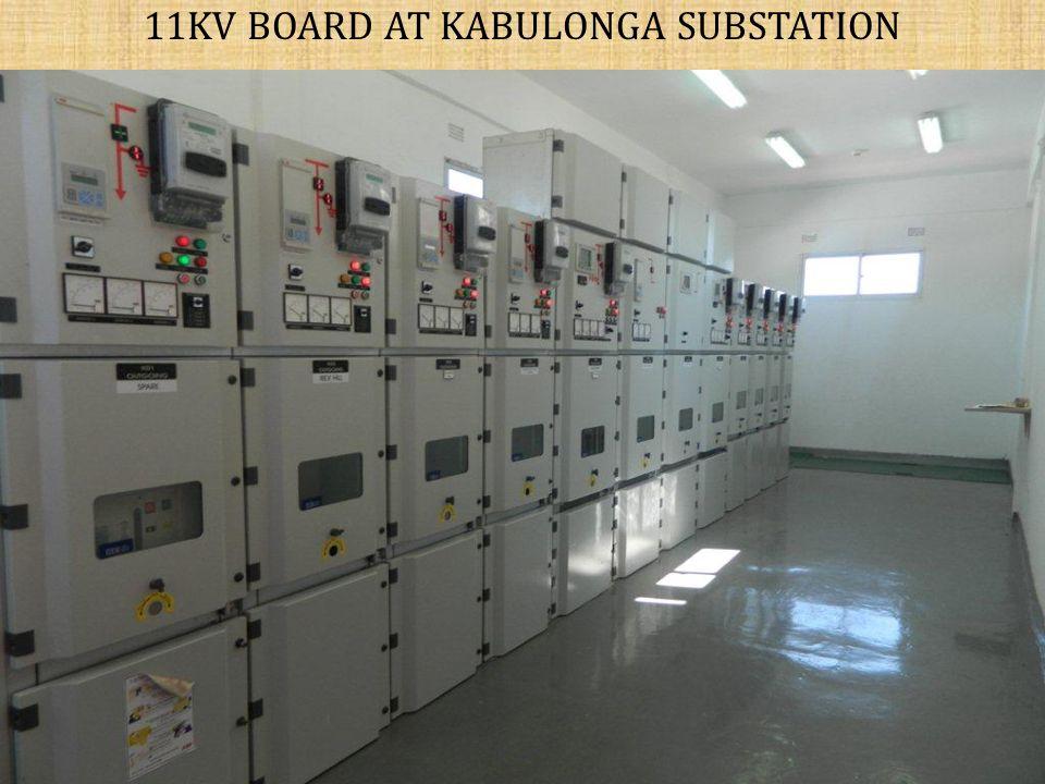 11KV BOARD AT KABULONGA SUBSTATION