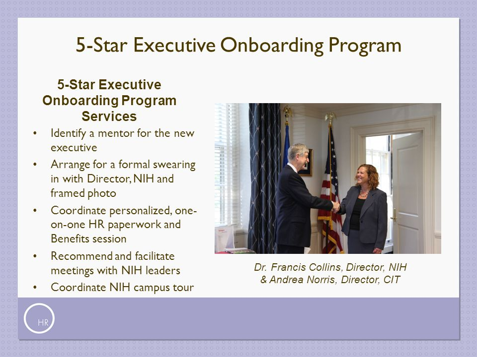 5-Star Executive Onboarding Program