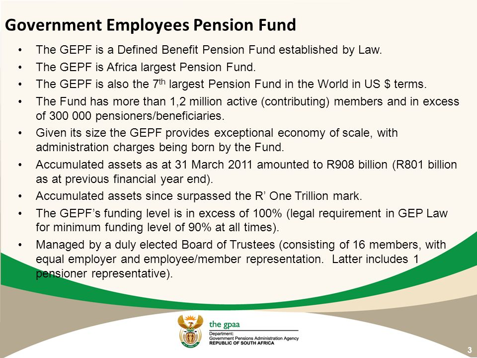 Government Employees Pension Fund