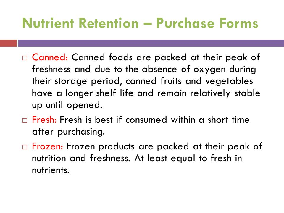 Nutrient Retention – Purchase Forms