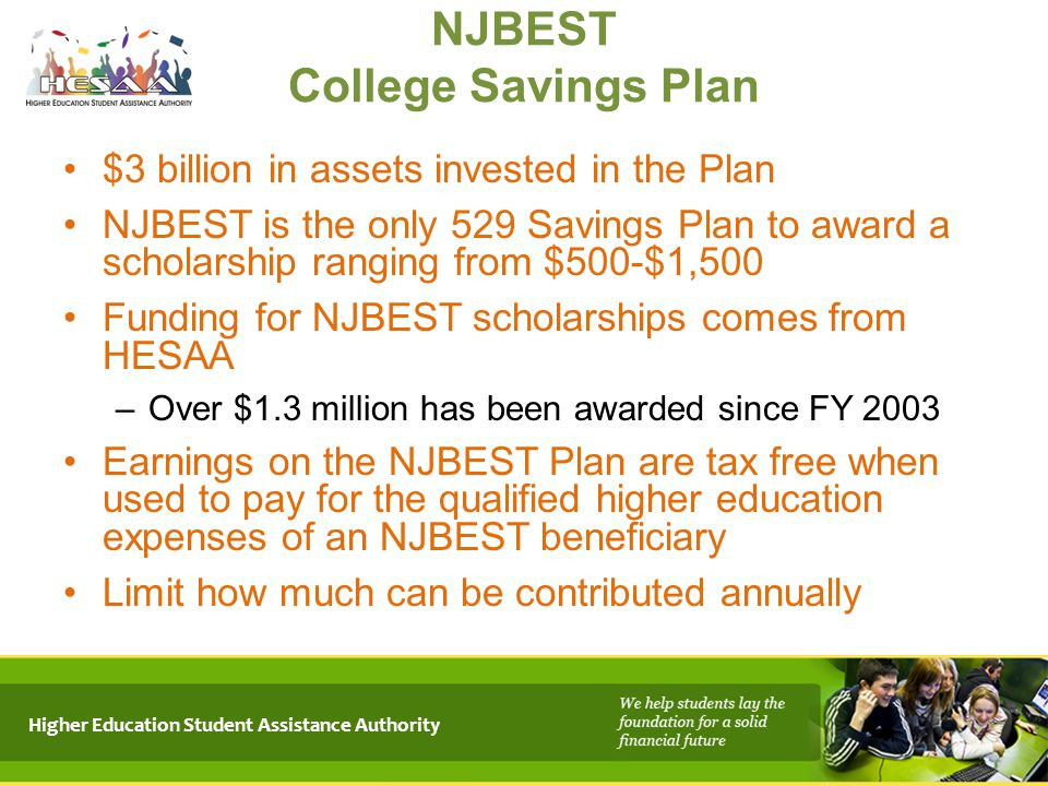 NJBEST College Savings Plan