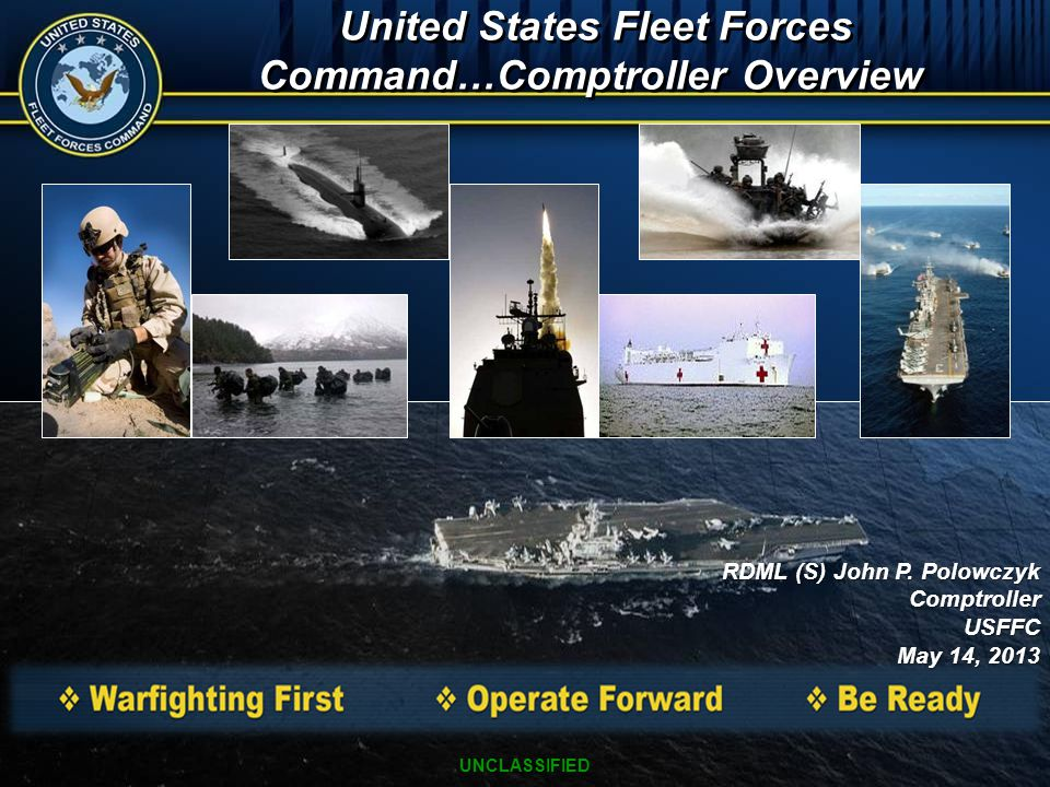 United States Fleet Forces Command…Comptroller Overview
