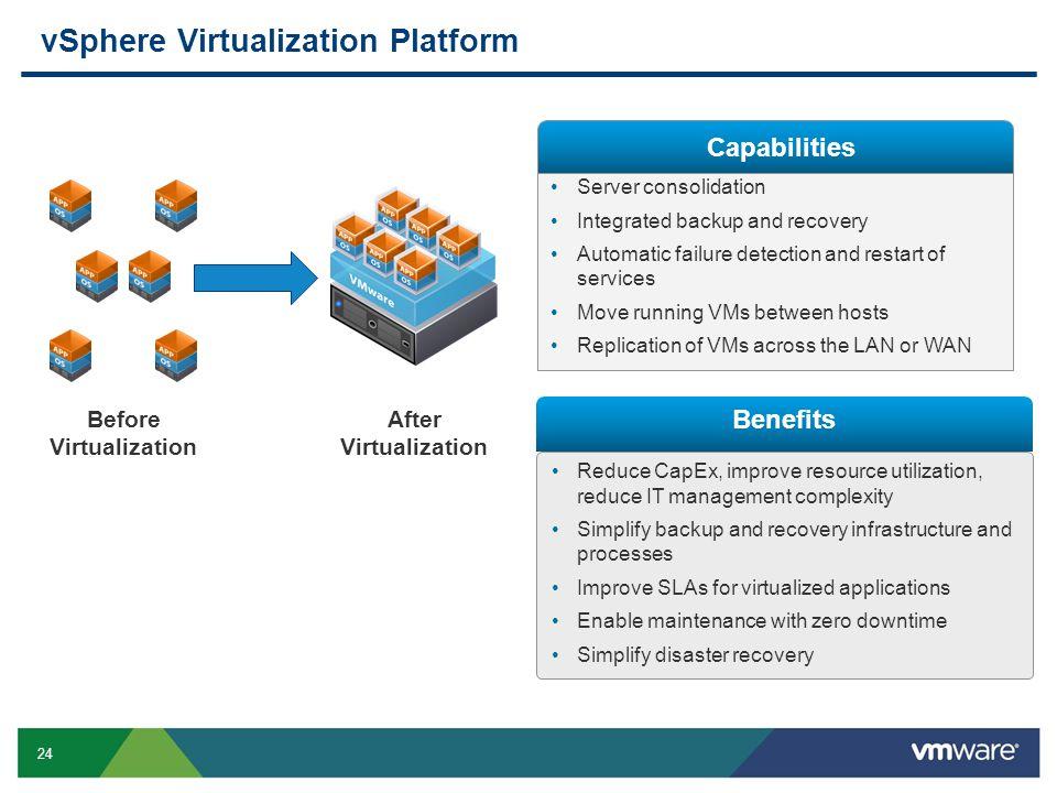 vSphere Virtualization Platform