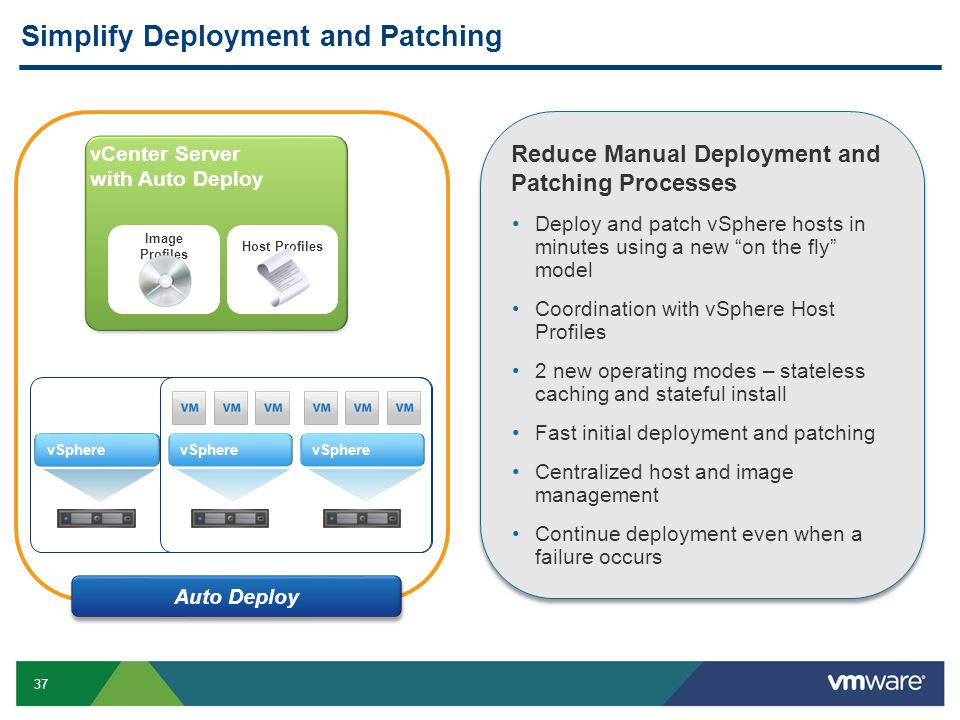 Simplify Deployment and Patching