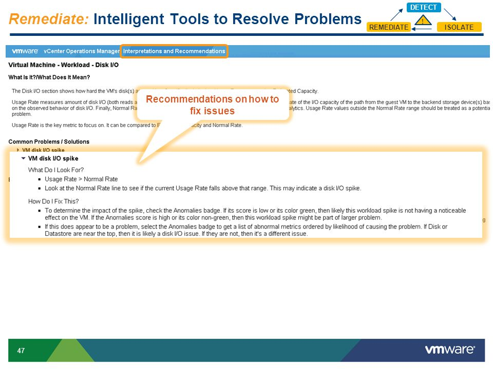 Remediate: Intelligent Tools to Resolve Problems