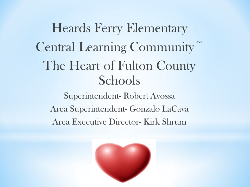 Heards Ferry Elementary Central Learning Community~