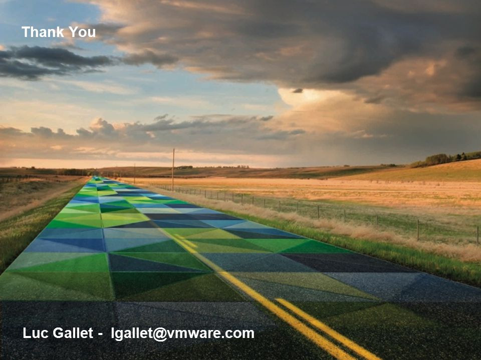 Luc Gallet - lgallet@vmware.com