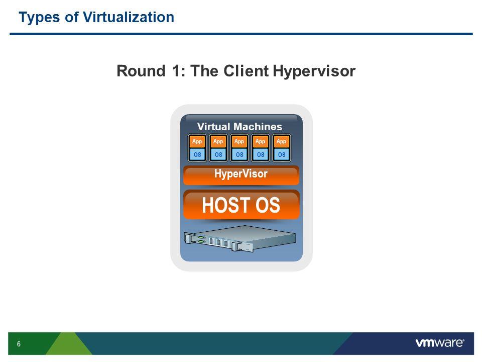 Round 1: The Client Hypervisor