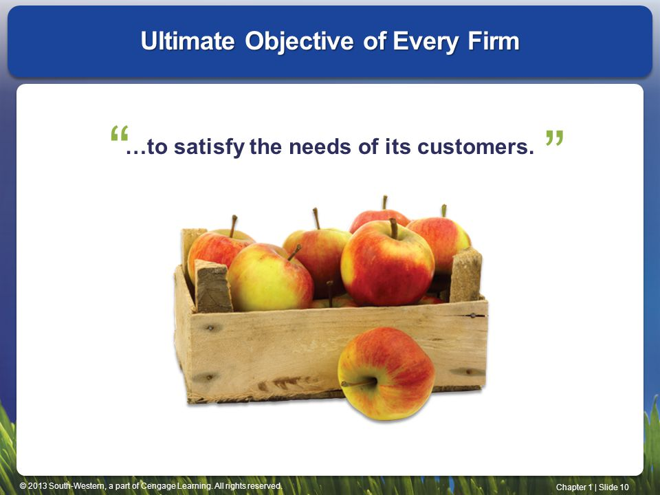 Ultimate Objective of Every Firm