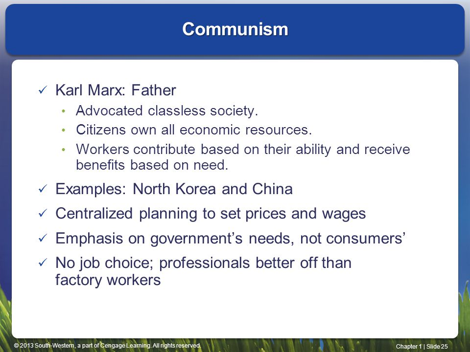 Communism Karl Marx: Father Examples: North Korea and China